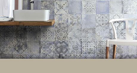 COTTOBELLO STAMPO AZURRO-20x20-Ceramica-Natucer