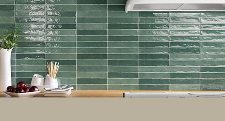 PIASTRELLA MIX OLIVE-5x25-Ceramica-Natucer