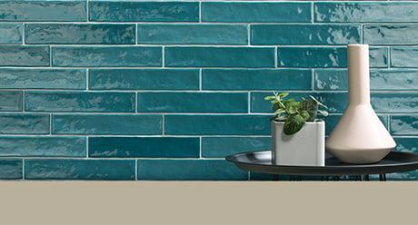 PIASTRELLA MIX TURCHESE-5x25-Ceramica-Natucer